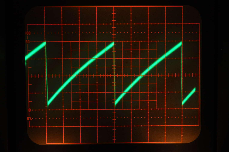High Frequency Transistorized Function Generator Triangular Waveform Using Schmitt Trigger Triangle Wave Ramp