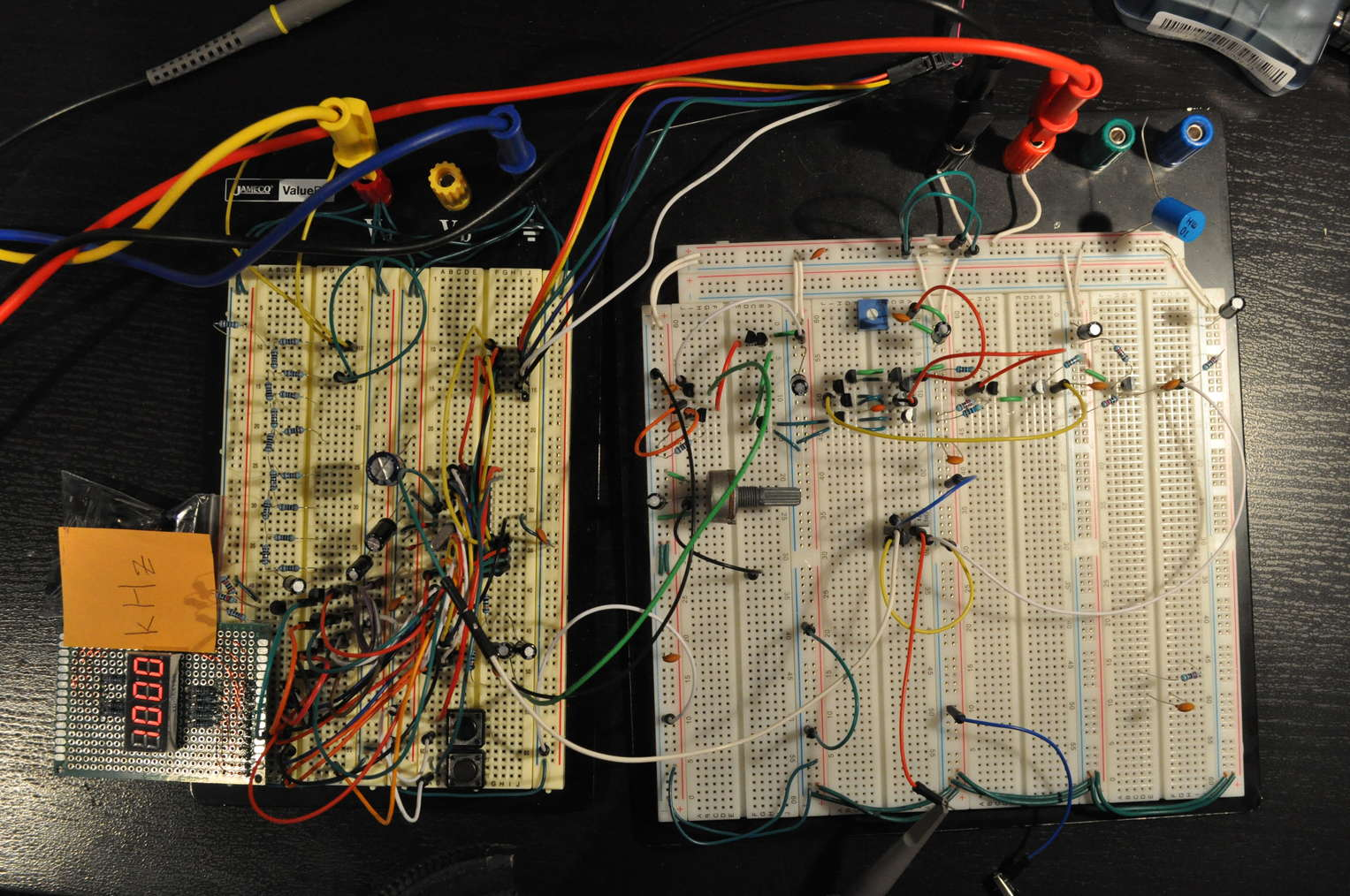 Synthesizer Breadbpard Diagram Electrical Wiring Diagrams Light2sound Ldr Synth Make A Software Defined Frequency